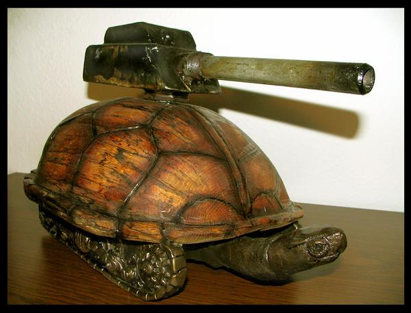 Turtle Tank by nosurprises