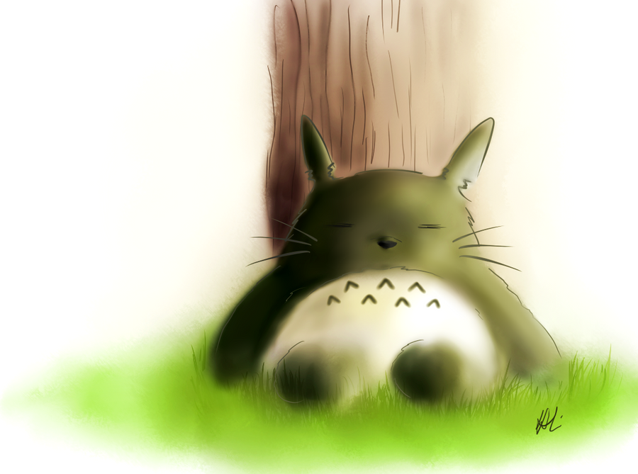Totoro by p-shdw