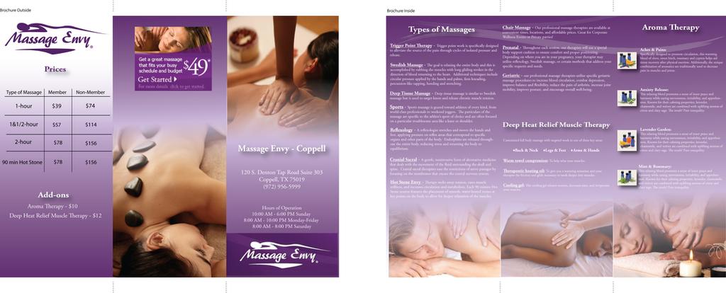 Massage Envy Brochure by AmBow on DeviantArt – Massage Brochure