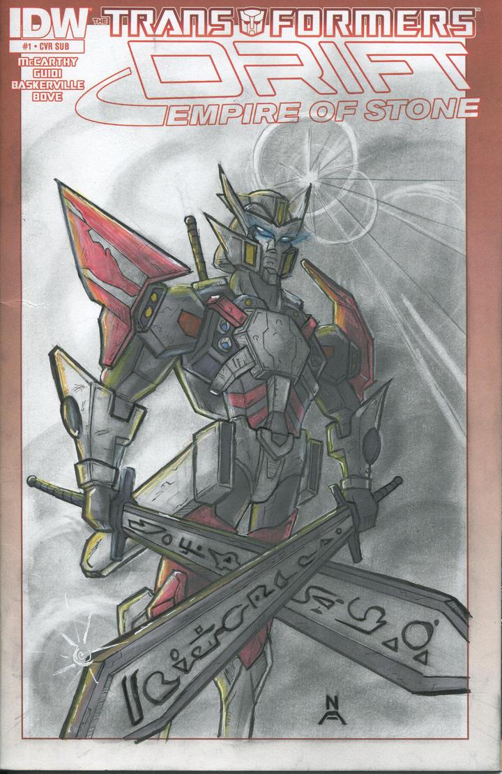 Transformers Drift by ssj3sketches