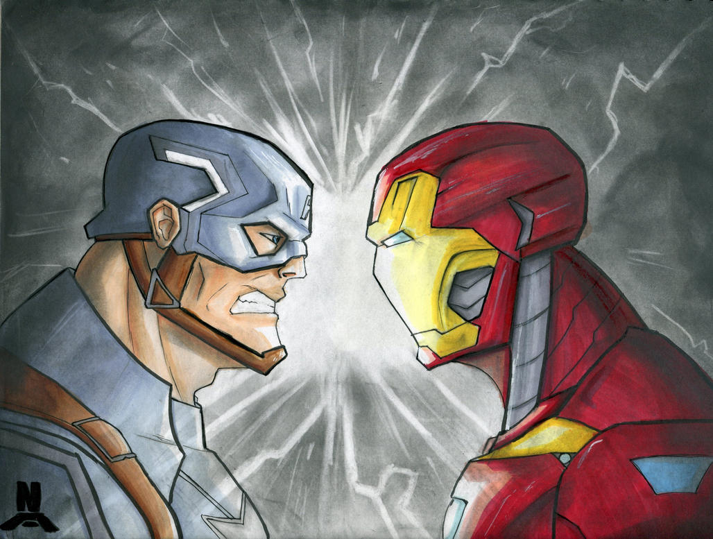 WHOSE SIDE ARE YOU ON? by ssj3sketches