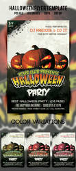 Halloween Flyer/Poster Vol.1 by another-graphic