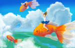 Goldfish Flyers