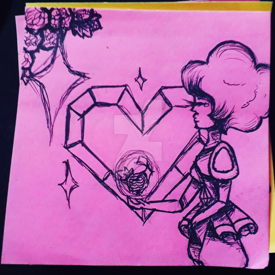 Pink diamond by Xxkillerkitty123456