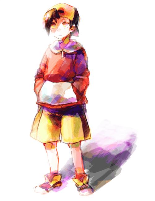 Pokemon Trainer by littleblacksouly