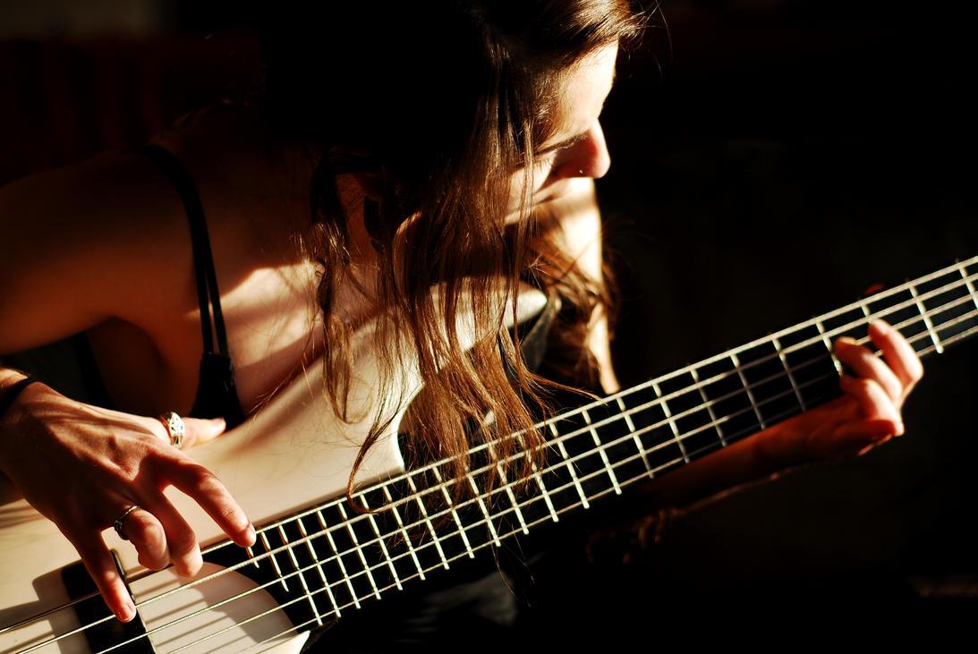 Asian Bass Player 60