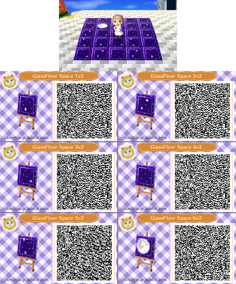 28 Animal Crossing New Leaf Floor Qr Codes Animal Crossing Hhd