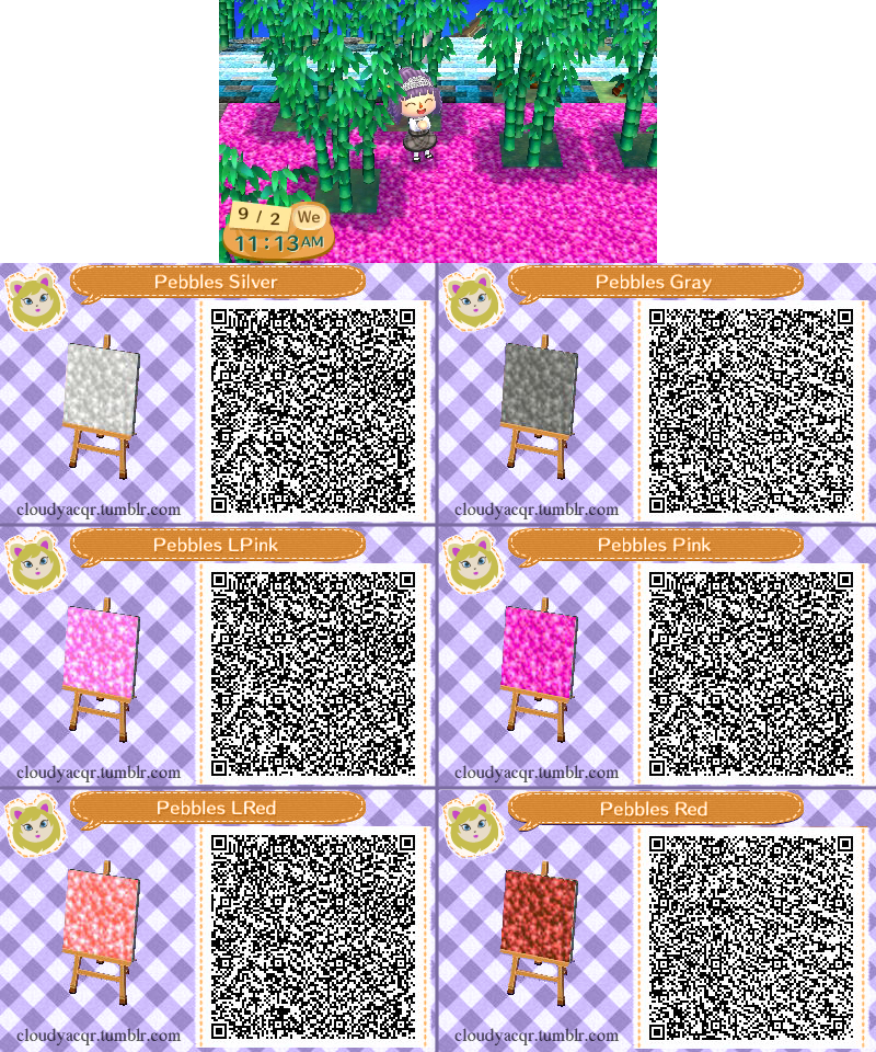 Animal Crossing Qr Pebbles 1 3 By Cloudyrei On Deviantart