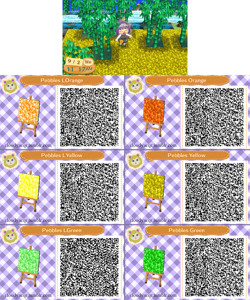 Animal crossing qr pebbles 2 3 by cloudyrei on deviantart for Wood floor qr code animal crossing