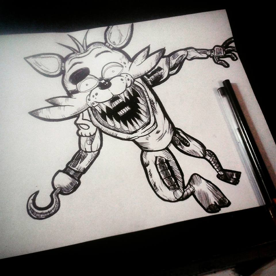NarutoUzumakilover13 0 0 Foxy Graffiti , Five Nights at Freddy`s