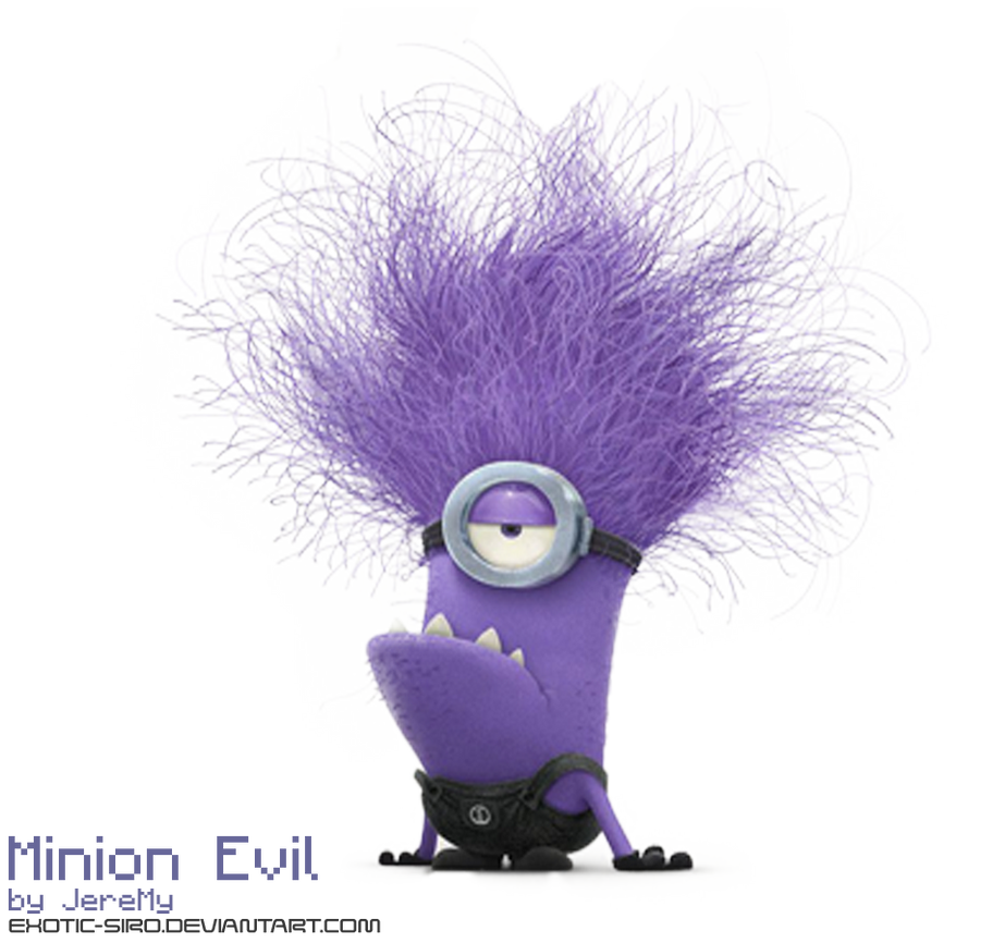 [PNG3] Minion Evil of Despicable Me by exotic-siro on ...
