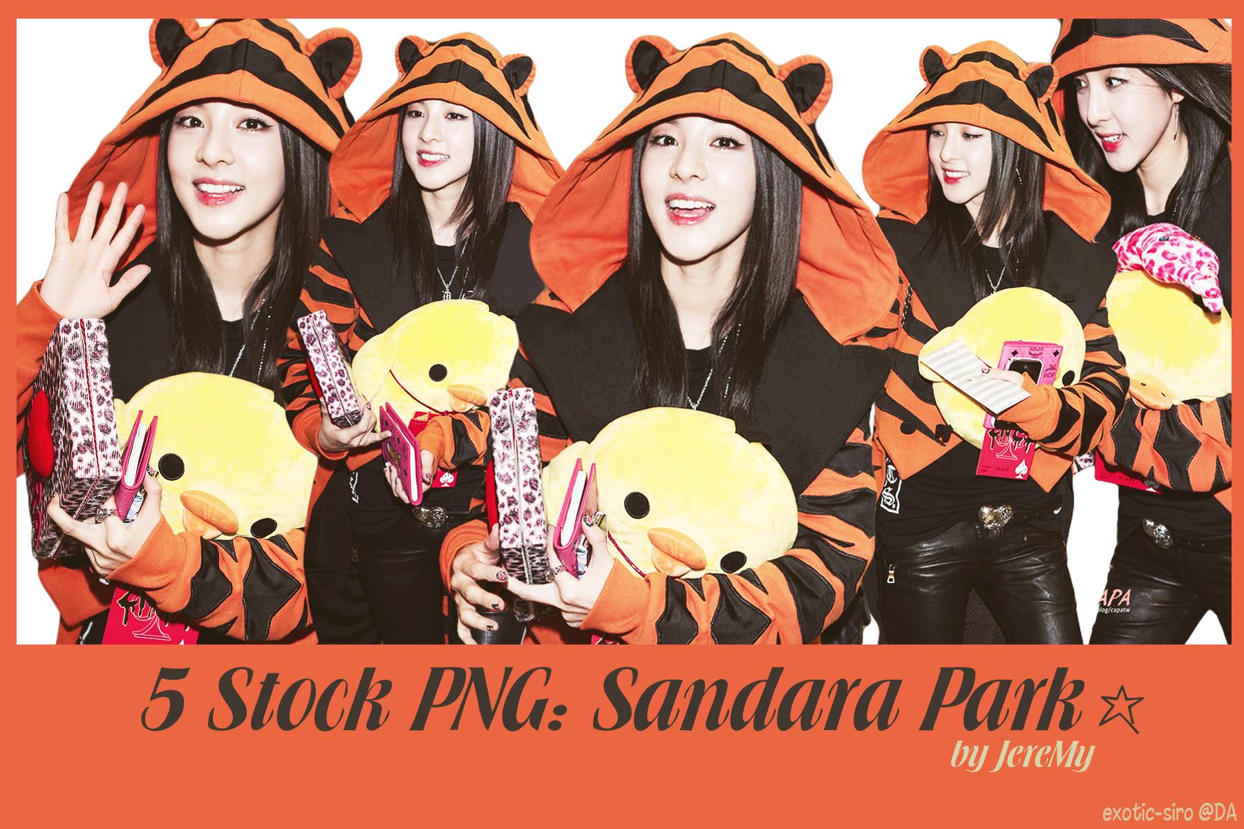 [PNGset7] 2NE1's Sandara by exotic-siro