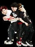 [PNG 48] EXO's ChanBaekChen for Kolon Sport cf 09