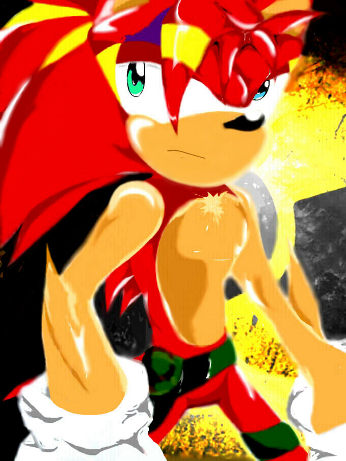 The Crimson Hedgehog Strykes Back by DarkStart001
