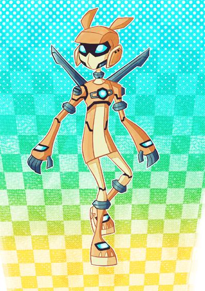 Robot Sari by CheshireP