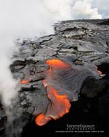 Kalapana Lava Flow, Hawaii by extremeimageology