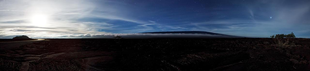 Mauna Loa moonlight