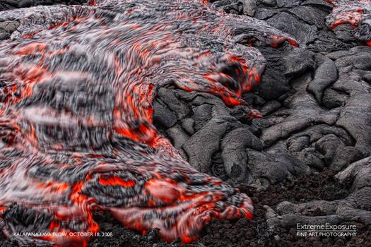 hawaii volcano kalapana