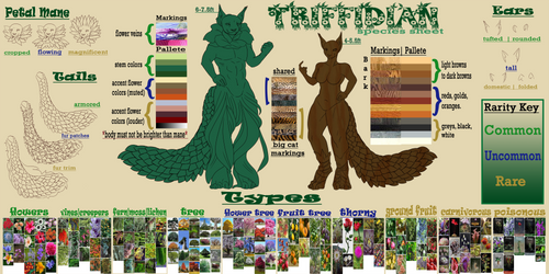 Triffidian Species Sheet