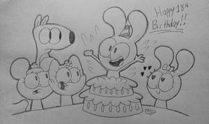 Happy 18th Birthday, cartoonlover98! by MisterSomeone12