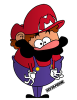 Phat Mario by MisterSomeone12