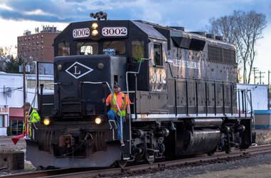 Lehigh Railway #3002 by amarouq2