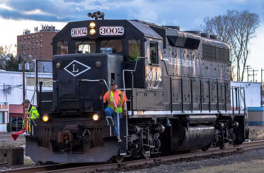 Lehigh Railway #3002