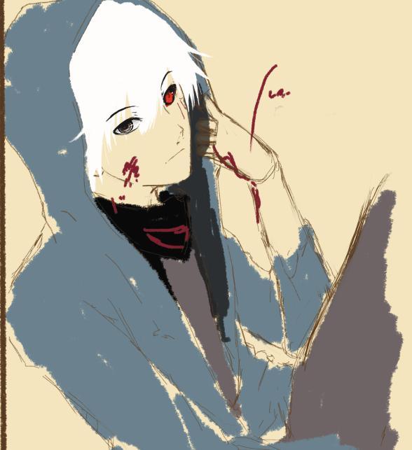 Doodle Ghoul by iINeroIi