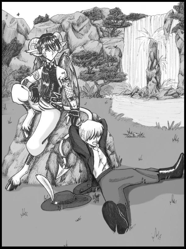 Johann and Mephistopheles by Kitsune64