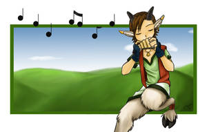 Satyr Song by Kitsune64