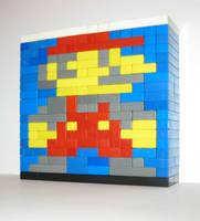 Mario Sprite Sculpture (sort of)