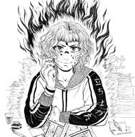 Fire by SawakoPhoenny