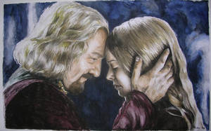 Eowyn and Theoden by RickyLilly
