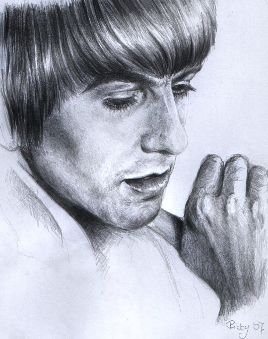 George Harrison by RickyLilly