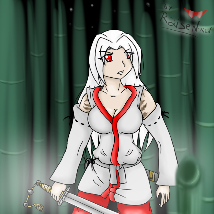 Soga no Kuniko drawing by Icyshadowlord