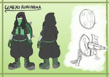 Umeko Kuroshima by Icyshadowlord