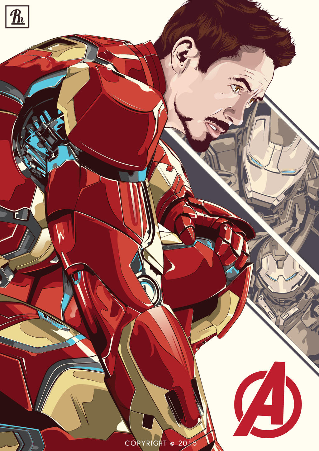Robert Downey Jr Iron Man by PRADIKARESNU on DeviantArt
