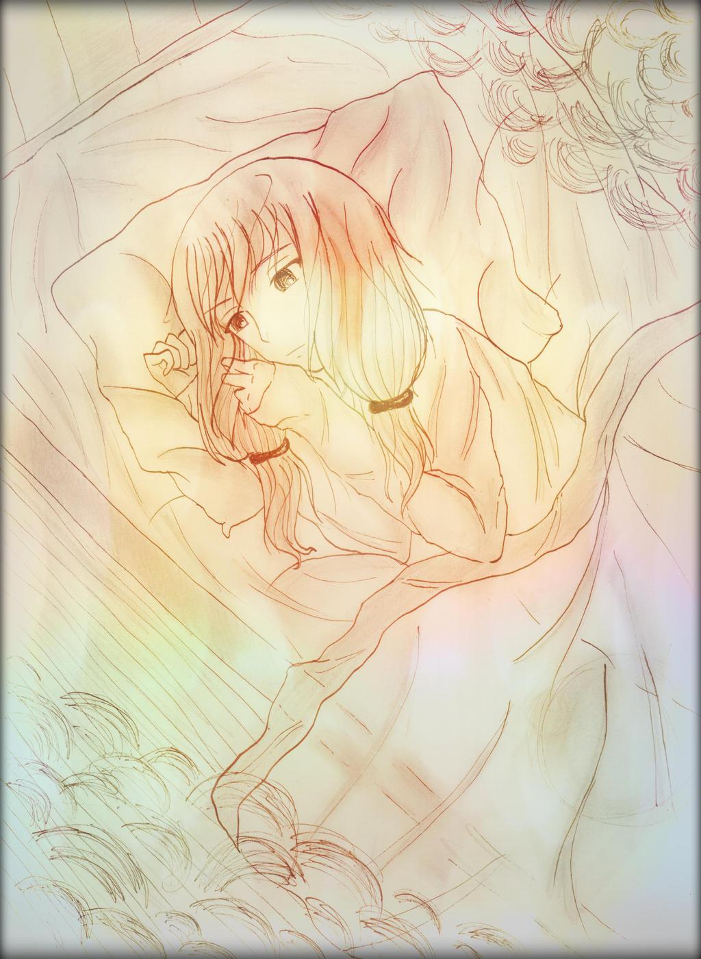 Shattered Memories ~ (my fanart) by Shinozaki--Ayumi