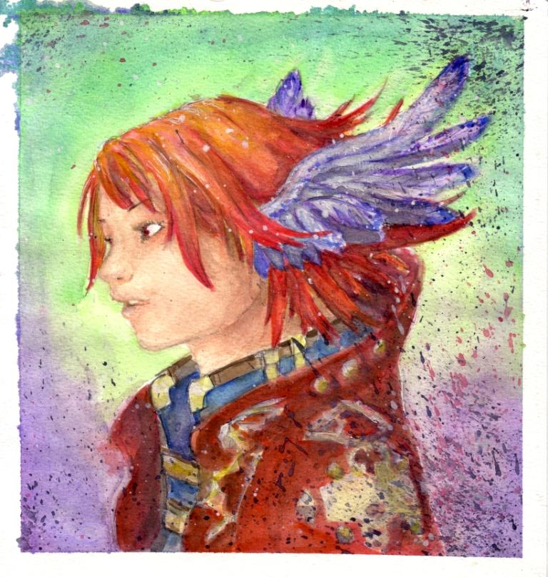 Watercolor practice crit plz