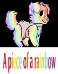 A piece of a rainbow