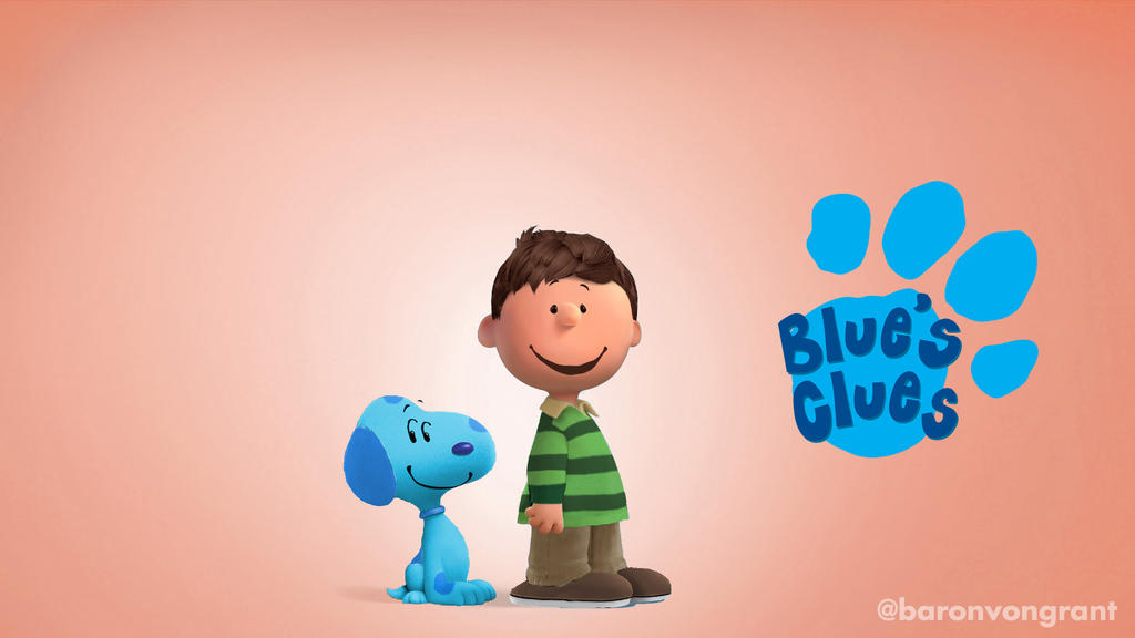 peanuts blues clues by baronvongrant - Blue Clues