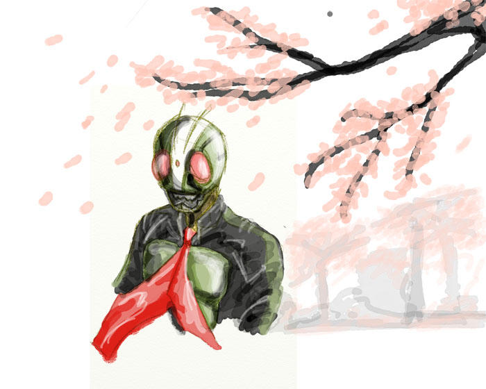 Kamen Rider by soetiono