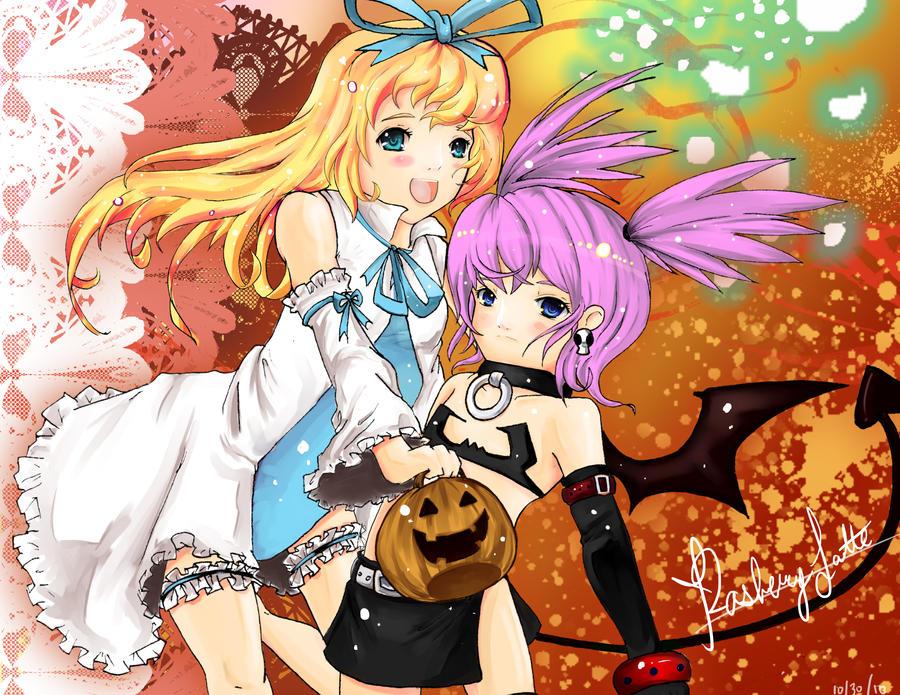 HappY HalloweEEn by RaspberryLatte