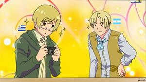 uru y aru-chan en el anime?OAO