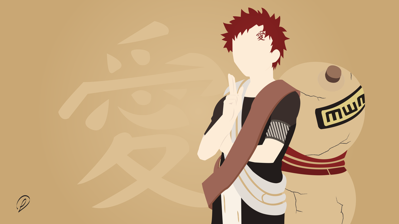 Design Simple Artwork naruto gaara simple artwork by lewisdarlow on deviantart lewisdarlow