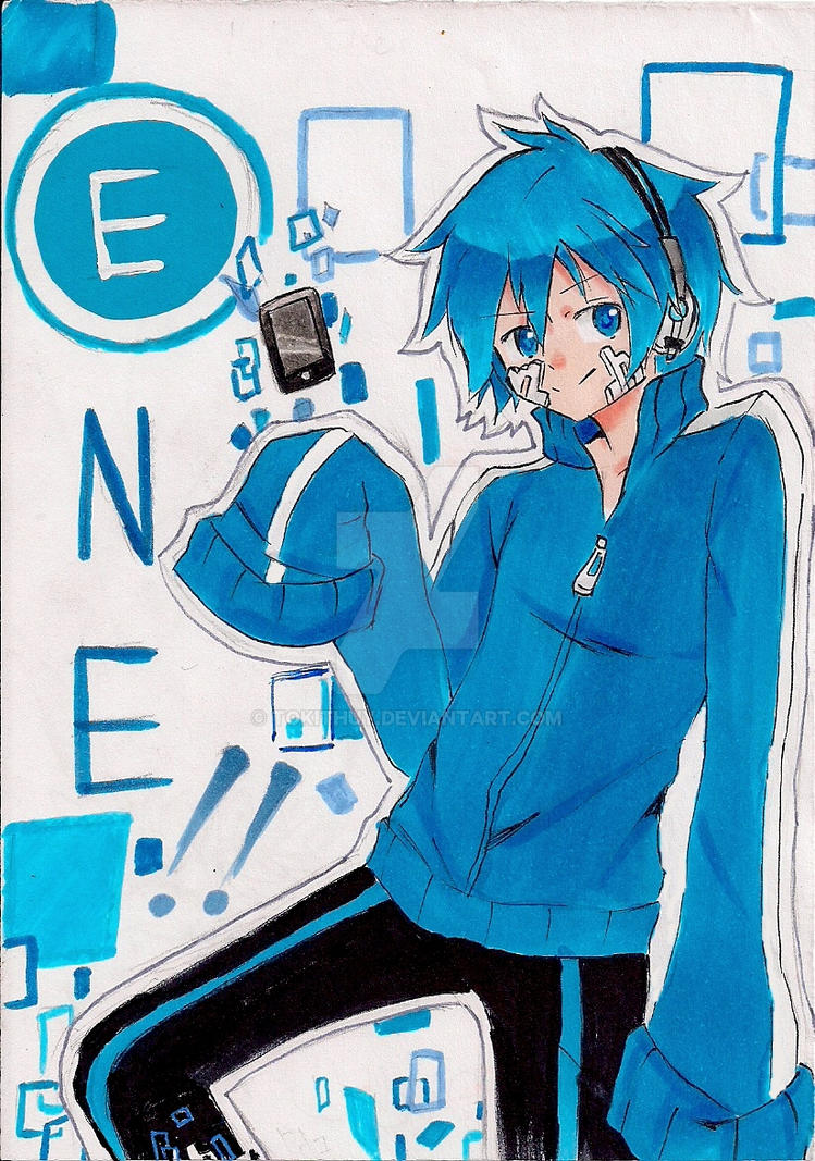 Thanks for (almost) 50 Watchers!! - Male!Ene by tokithuy