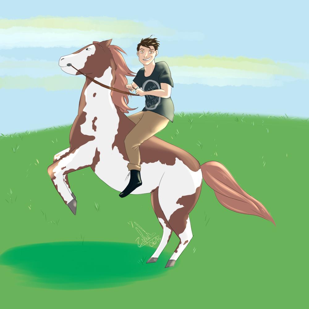 Horse by Sucrettee