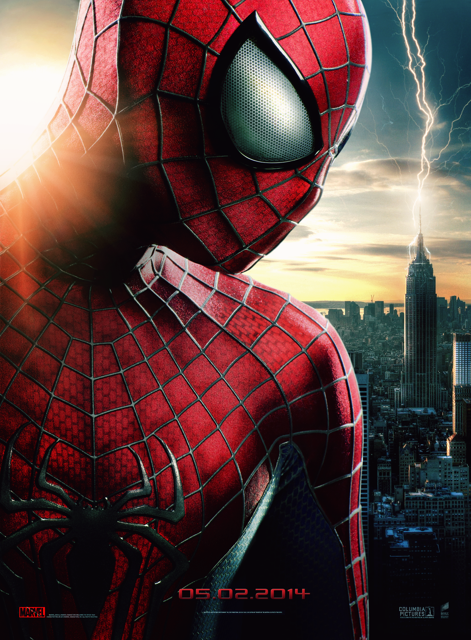 Group Of Amazing Spider Man 2 Poster Wallpaper