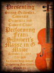Orchestra Concert Poster