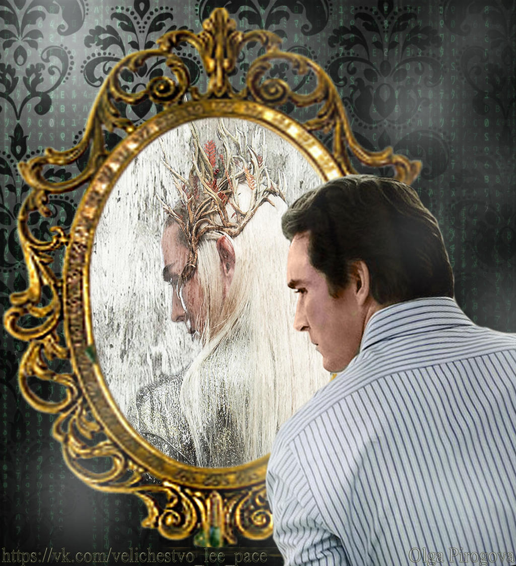 Mirror Lee Pace by OlgaVPirogova